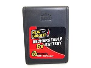 NEW PRICE - Newbright -- 6v R/C Battery Plus 2 - 4 Hour Chargers