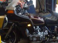 Honda GL1100 Goldwing motorcycle