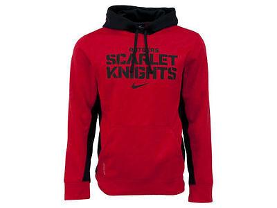 Rutgers Scarlet Knights Nike Ncaa Classic Logo Hoodie Mens Sweatshirt   Xl