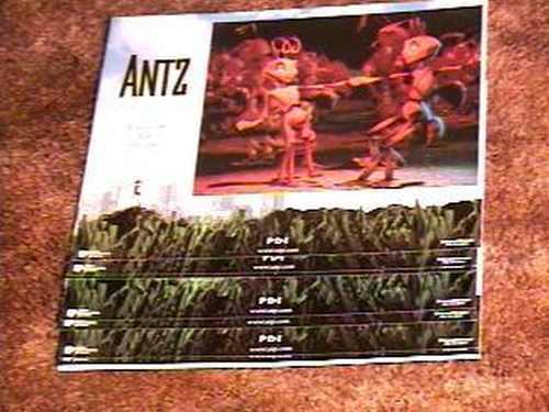 ANTZ LOBBY CARD SET ANIMATION