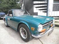 T riumph Tr6 1971 classic car for sale