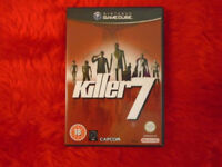 Killer7 for GameCube PAL boxed in good condition