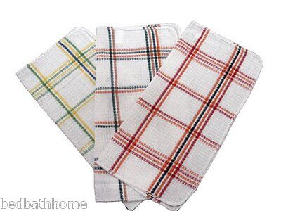 Multi Colored Dishes (NEW - Assorted Waffle Weave Dish Cloths - Multi Colored Waffle Weave Dish)
