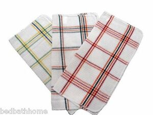 NEW - Assorted Waffle Weave Dish Cloths set of 6 - SKU 7