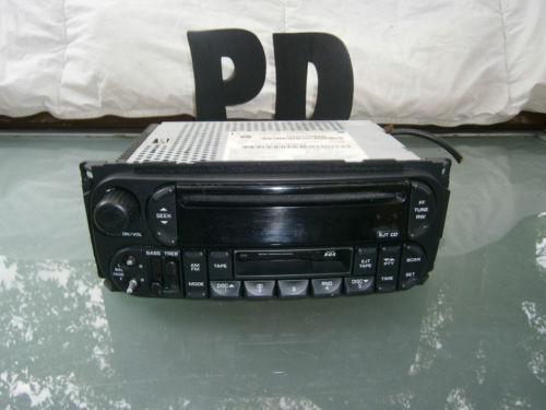 2004 Jeep Liberty Radio