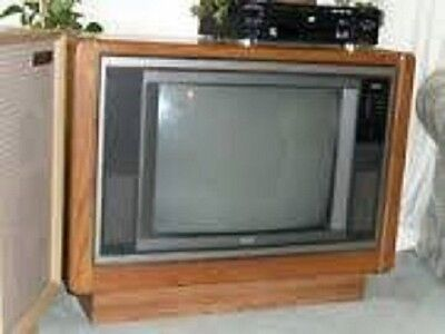 """RCA  25"""" CRT Television Beautiful picture"""