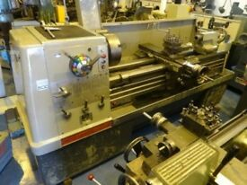 COLCHESTER MASCOT GAP BED CENTRE LATHE 60 INCH WITH TAPER TURNING