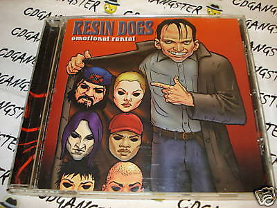 CD RESIN DOGS  EMOTIONAL RENTAL 1999 METAL ~ULTRA RARE!