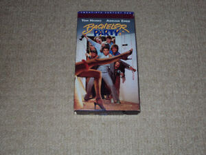 BACHELOR PARTY, VHS MOVIE, EXCELLENT CONDITION