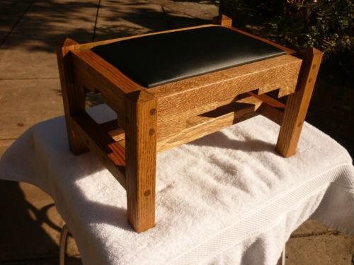 Mission Footstool Antiques Ebay