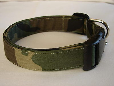 Charming Army Green Camouflage Dog Collar Camouflage Dog Collar Collars