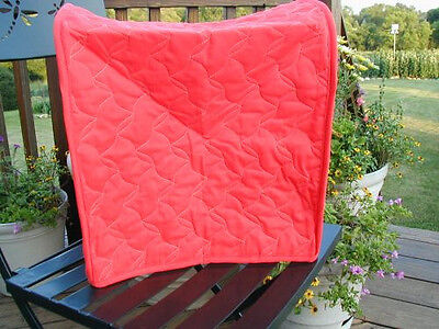 Red Appliance Cover fits Kitchen Aid Mixers Etc, Solid, cotton blend