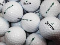 100.SRIXON SOFT FEEL GOLFBALLS IN EXCELLENT CONDITION