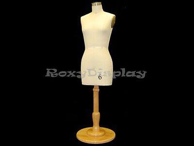 Female Table Top Display Half Scale Half Body Dress Form St-size6halfbs-c06mnx