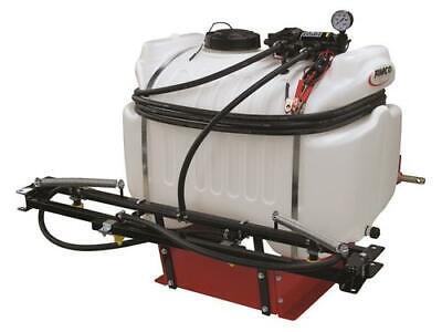 Extra Large 40 Gal 3 Point 12v Hitch Sprayer 2.1 Gpm Diaphragm Pump Utv 4 Nozzle