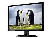 HannsG HE195ANB 18.5-Inch Widescreen LED Monitor (1366 x 768, WXGA, VGA, 5ms, 100 x 100 VESA)