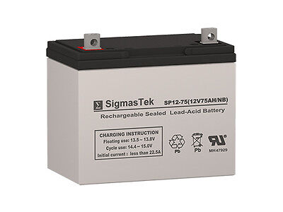 Enersys Np75 12 Replacement Battery By Sigmastek