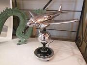 Art Deco Airplane Lamp