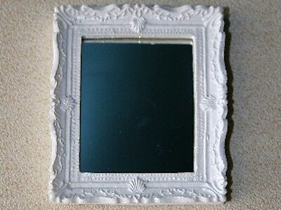 Shabby Chic Mirror Dolls House Miniatures 1.12 Scale