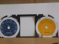 Range Rover Evoque Diesel Dials MPH 6k 2011 to 2015 Branded Blue and Yellow