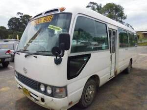 1998 Toyota Coaster 22 Seater Eden Bega Valley Preview
