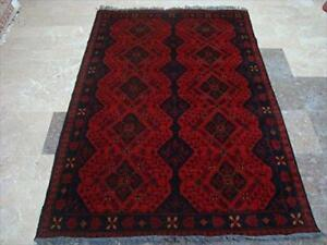 Exclusive Khal Muhamadi Fine Afghan Rectangle Area Rug Hand Knotted Wool Carpet (6.2 x 4.1)'