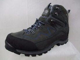 Karrimor Hot Earth Mens Walking Boots grey/blue - NEW - UNUSED
