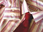 Men's Thomas Pink White Shirts