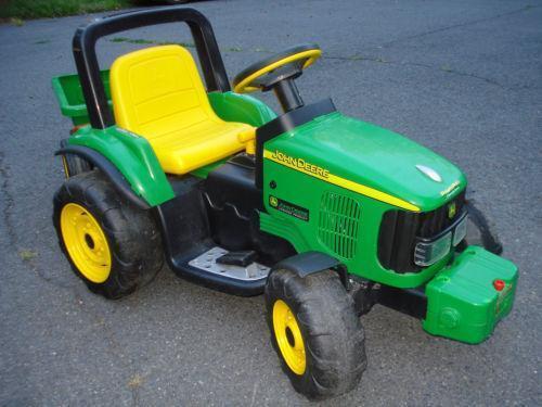 Peg Perego Tractor Parts : Peg perego john deere ebay