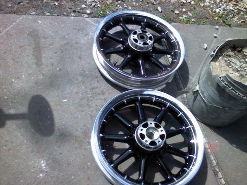 harley chrome wheels | ebay