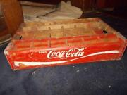 Vintage Wooden Soda Crate