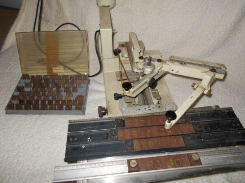 Engraving machine business office industrial ebay for Engraving machine letter sets