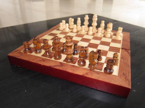 Wooden Checker Board  eBay