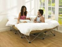 Deluxe Single Air Bed, Electric Pump, Ideal for Guests, Camping & Sleepovers