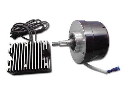 Black Generator Alternator 12 Volt 17 Amp Conversion Kit 32-0371 Harley Ironhead