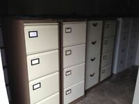 4-drawer Filing cabinets, Office, garage, shed, tool storage