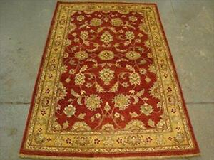 Exclusive Rare Vegetable Dyed Chobi Zeigler Mahal Area Rug Hand Knotted Wool Carpet (6.0 x 3.11)'