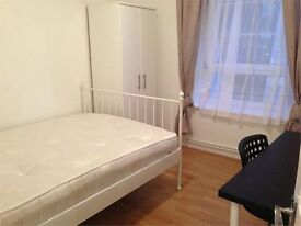 gorgeous double room in Willis house, Poplar, with all bills included