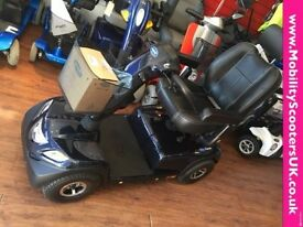 Brand New Ex Display Invacare COMET Large ELECTRIC mobility scooter 8 MPH BLUE