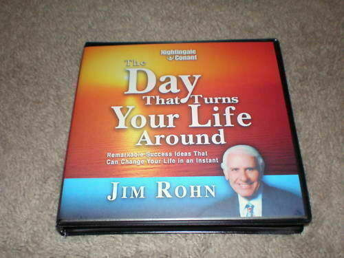 Jim Rohn The Day That Turns Your Life Around 6 CD
