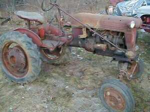 im looking for old farm shot international cub for parts