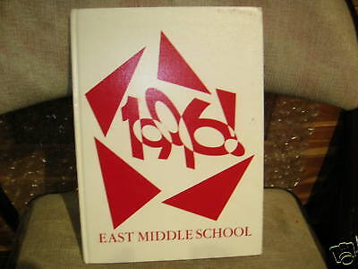 1996 EAST MIDDLE SCHOOL YEARBOOK/DOWNEY, (Downey Center)