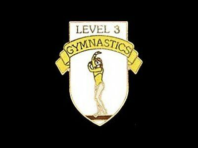 Level 3 Gymnastics Lapel Pin - GETTING READY TO COMPETE!