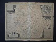Kupferstich Landkarte