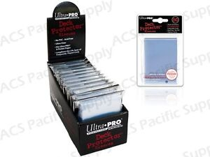 600-ULTRA-PRO-CLEAR-DECK-PROTECTORS-SLEEVES-Standard-MTG-Colors-Lot