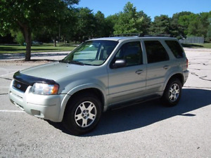 2004 ford escape 4x4 .. limited edition /loaded