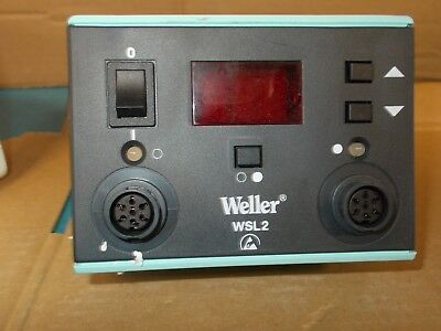 New Weller Wsl2 Dual Digital Soldering Station 120v 5060hz
