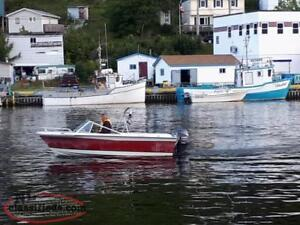 Boat with New Motor and comes with Trailer