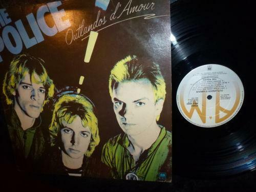 The Police Outlandos D Amour Ebay