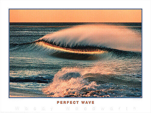 California Surfing STEAMER LANE Gallery Surf POSTER Print by Creation Captured